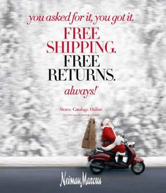 Neiman Marcus adds permanent free shipping and returns offer