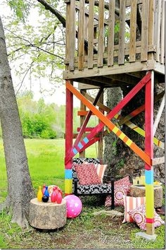 #reclaimed #wood #treehouse