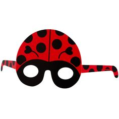 Ladybug Paper Masks, 87408