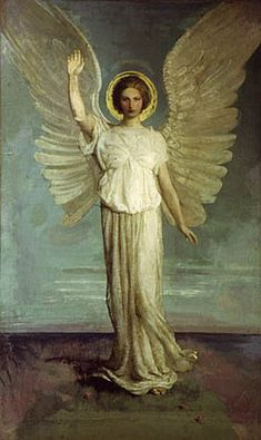 Angel of the Dawn, Abbott H Thayer by Painter's Reference, via Flickr