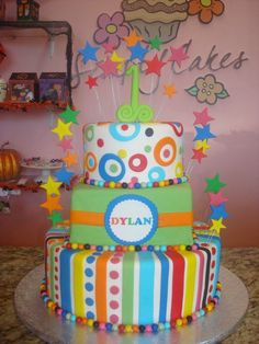Color cake