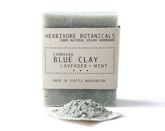 Vegan Lavender and Mint with Cambrian Blue Clay (scrumptious!)