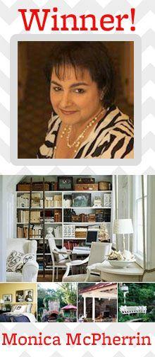 Congratulations to Pin & Win Finalist Monica McPherrin! See her winning board here: http://pinterest.com/mmcpherrin/my-better-homes-and-gardens-dream-home/