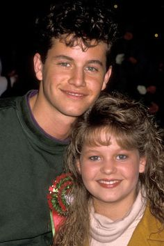 Kirk Cameron & and his little sister Candace Cameron (Bure).