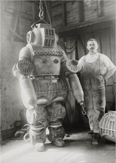 Chester E. McDuffee's patented diving suit - 1911