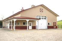 Morton Buildings farm storage in Pennsylvania. futur farm, build farm, farm storag, horse trailers, hors trailer