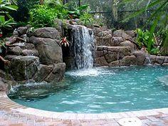 I love falling water!