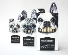 Whitebites by Cecilia Uhr, via Behance