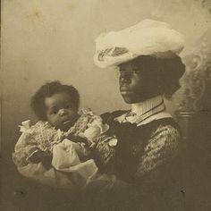 Mother and child, circa 1890s african american, black vintag, mothers, circa 1890s, famili, africanamerican histori, children, vintage photos black, black histori