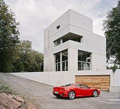 Hexahedron House by Architekturbüro Stocker in Engelsbrand, Germany
