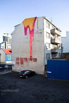 Sequin street art