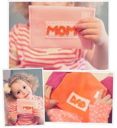 DIY Felt Envelopes Tutorial... cost: little over a buck! Easy and Fun project for creative playtime!