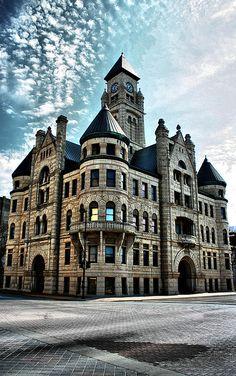 Old Wichita City Hall- now the Wichita-Sedgwick County Historical Museum.