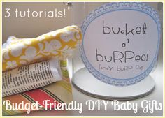 babies stuff, cloth diapers, burpe, burp clothes, gift ideas, baby gifts, bucket, baby shower gifts, baby showers