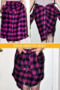 shirt to skirt