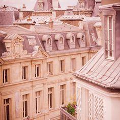 Mauve Morning in Le Marais. Paris, France.