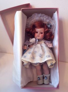 "VINTAGE VOGUE GINNY Doll, ORGINAL ""BERYL"" 1951#43 the Tiny Miss Series BEAUTIFUL"