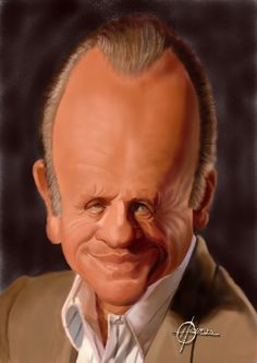 Anthony Hopkins Caricature Sportcartoons Network would like to give a huge thankyou to Hans Deconinck. The man responsible for these fantastic caricatures.