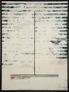 """Graceann Warn,  Sotto Voce #2 , 2013  41"""" x 31"""" x 2 """"  Oil, encaustic,paper and object on wood panel"""