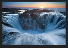 A place called spouting horn in Oregon.