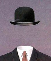 Rene Magritte, Man with no Head