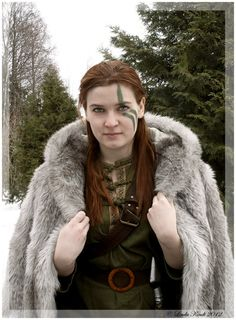 Norse warrior princess: the Vikings colonised Briton and their lineage is part of the Celtic bloodline in many areas.
