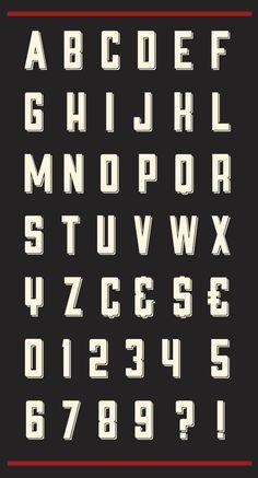FREE font - Sahara