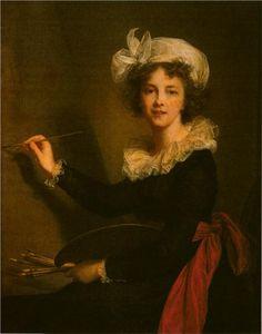 Self-portrait, 1790  Louise Elisabeth Vigee Le Brun