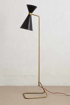 Novara Floor Lamp | $398.00 #Home #Decor #Design #Decorating | Visit WISHCLOUDS.COM for more...