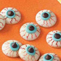 Halloween cookies... great idea.