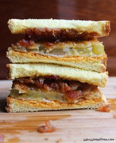 This fried green tomato sandwich recipe comes with pimento cheese and bacon jam. It just may be the greatest sandwich in the world.