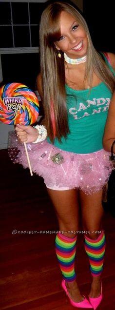 Sexy Candy Land Costume... This website is the Pinterest of costumes
