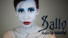Sally Makeup Tutorial | Halloween 2013