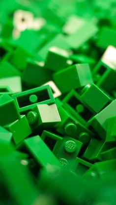 Green Lego.
