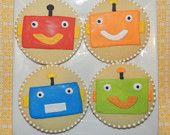 Robot cookies.