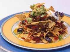 This: Beef Nachos. #Superbowl #Appetizer #Football #NFL #Snack