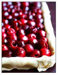 The Italian Dish - Cherry Slab Pie