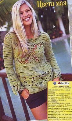 DE MIS MANOS TEJIDOS Y MAS...: Modelos de blusas a crochet