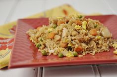 Fried Rice....yum.