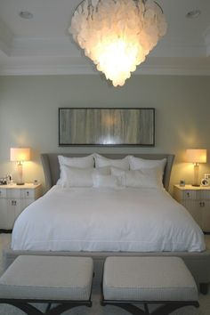 Love gray bedrooms