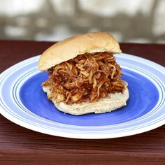 Crockpot BBQ Beer Chicken-yum!