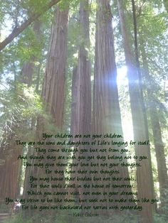 On Children  #unschooling