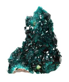 Dioptase with Wulfenite from Namibia
