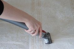 How To Clean Your Mattress: baking soda and a vacuum
