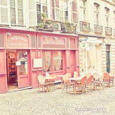paris bakery, pink cafe, bakery paris, pink places, pink paris, paris cafe, la crêperi, paris pink, paris france shopping