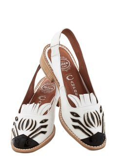 Zebra Fever Flat, #ModCloth