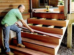 Build a Staircase in Three Easy Steps