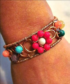 Bracelet Gallery - Art -Z Jewelry @Rachel Whitney Who Knits there are soooo many examples of wire jewelery here :)