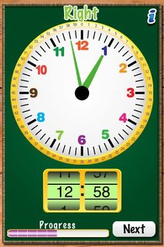 Free Clockmaster App - Helps children develop fluency with reading and setting time on analog and digital clocks