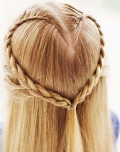 heart braid<3